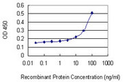 GZMA / Granzyme A Antibody - Detection limit for recombinant GST tagged GZMA is 3 ng/ml as a capture antibody.