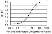 MFAP3 Antibody - Detection limit for recombinant GST tagged MFAP3 is 0.1 ng/ml as a capture antibody.