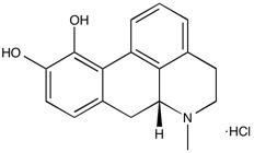 Apomorphine HCl Biochemical - Apomorphine HCl Structure