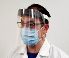 Product - LS-M63 - Disposable Face Shield, Front View