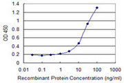 Detection limit for recombinant GST tagged GNG5 is 1 ng/ml as a capture antibody.