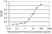 Detection limit for recombinant GST tagged GRM1 is 0.1 ng/ml as a capture antibody.