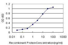 GSTA1 Antibody - Detection limit for recombinant GST tagged GSTA1 is approximately 0.1 ng/ml as a capture antibody.