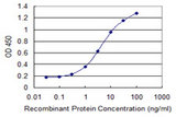 Detection limit for recombinant GST tagged MCCC2 is 0.1 ng/ml as a capture antibody.