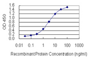 Detection limit for recombinant GST tagged SP2 is 0.03 ng/ml as a capture antibody.