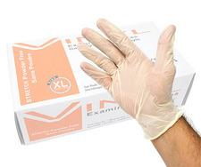 Product - LS-J2198 - Stretch Vinyl Powder-Free Examination Gloves