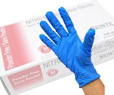 Product - LS-J2192 - Textured Nitrile Powder-Free Examination Gloves
